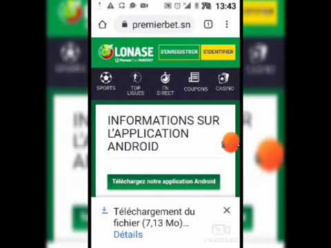 Premier Bet application Android
